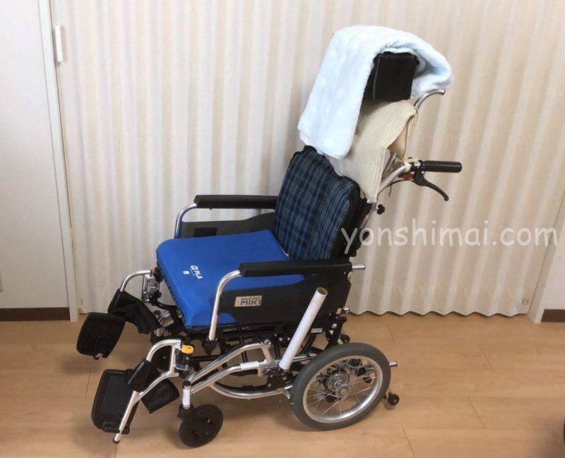進行性核上性麻痺 介護 モジュール車いす